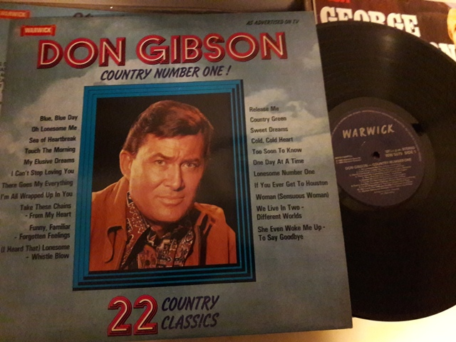 Don Gibson - Country No. 1 - Warwick WW.5079 UK 1980 Ex