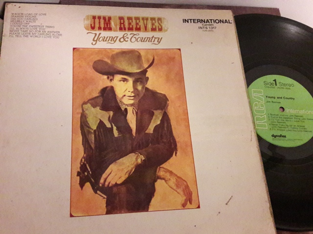 Jim Reeves - Young & Country - RCA INTS.1317 UK 1971 Ex
