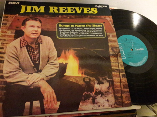 Jim Reeves - Songs to warm Heart - RCA Camden CDS.1099 1972
