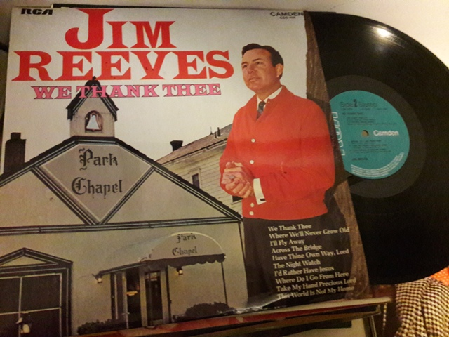 Jim Reeves - We thank thee - RCA Camden CDS.1111 UK 1973