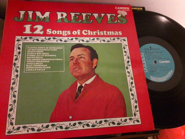 Jim Reeves - 12 Songs Christmas - RCA Camden CDS.1160 1974