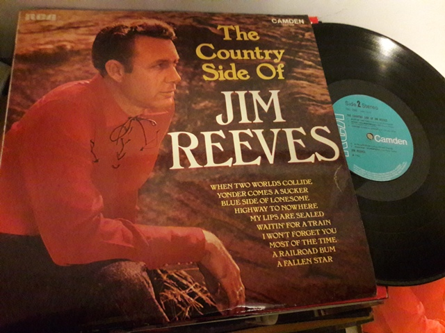 Jim Reeves - The Country side of - RCA Camden CDS.1000 1969