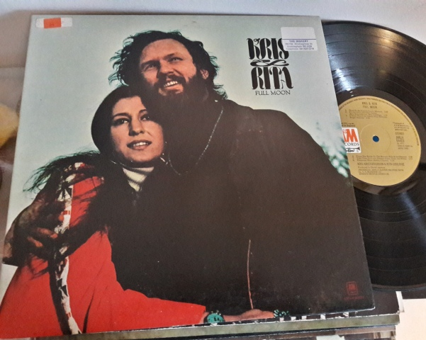 Kris Kristofferson & Rita Coolidge - Full Moon - A & M 64403 UK