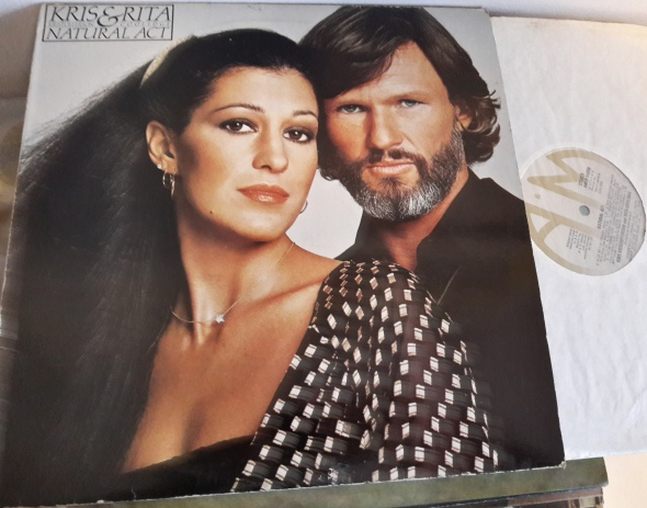 Kris Kristofferson & Rita Coolidge - Natural Act - A & M 64690