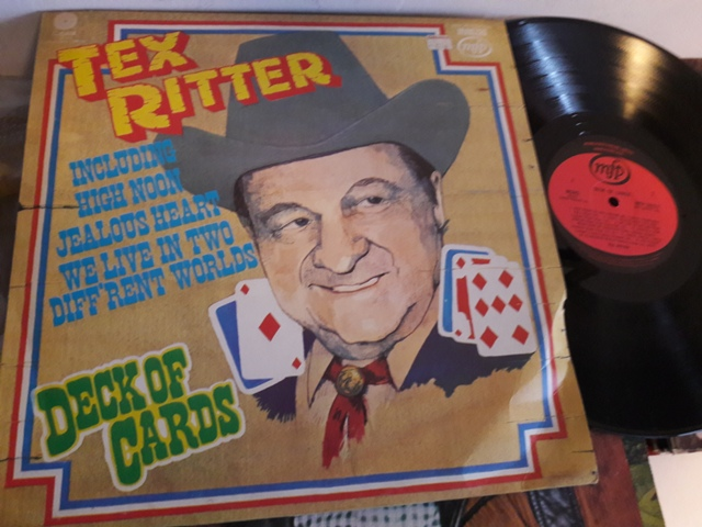 Tex Ritter - Deck of Cards - MFP.50237 UK 1970's