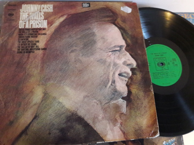 Johnny Cash - The Walls of Prison - CBS.S52825 Holland 1970