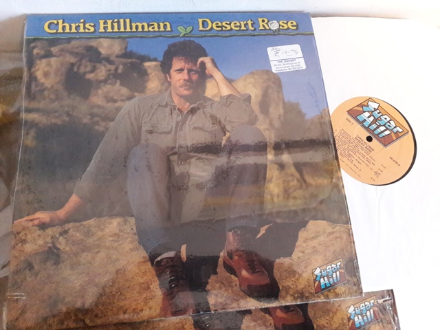 Chris Hillman - Desert Rose - Sugar Hill SH.3743 - USA 1984