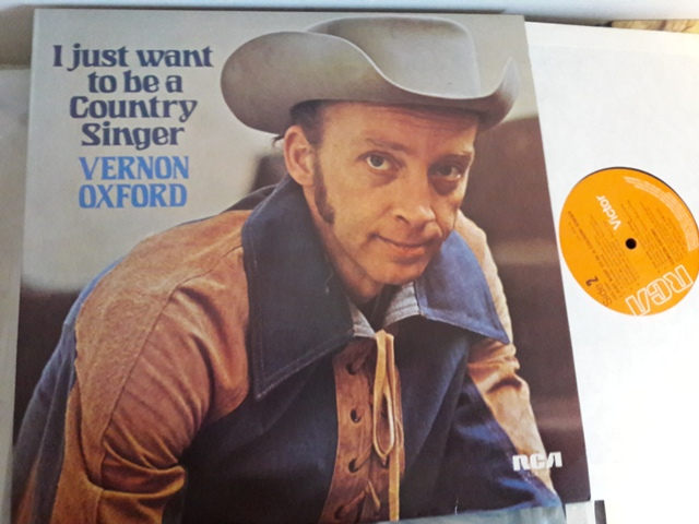 Vernon Oxford - I just want to be a Country Singer - RCA LSA3281