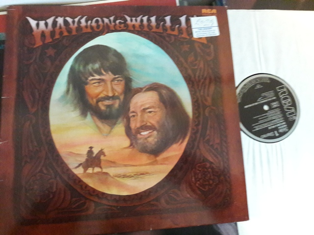 Waylon Jennings & Willie Nelson - RCA NL.85134 Germany 1978