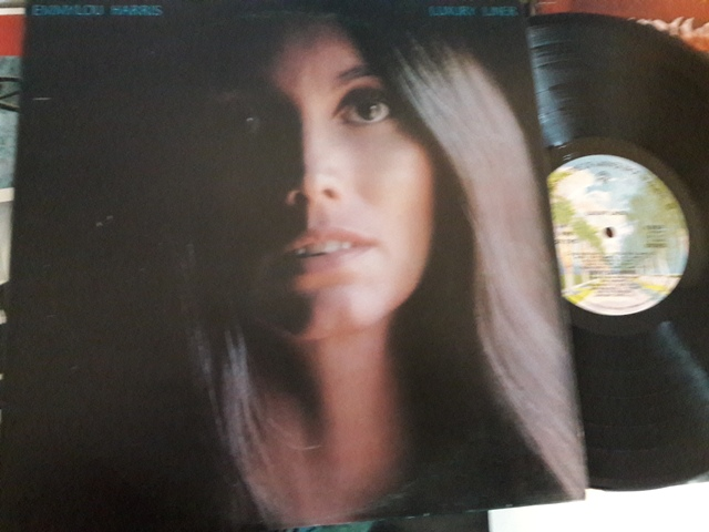 Emmylou Harris - Luxury Liner - Warner K.56334 UK 1977