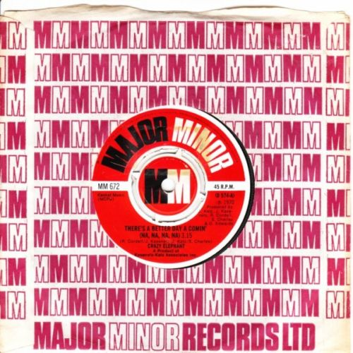 Crazy Elephant - Better Day - Major Minor Unplayed 2888