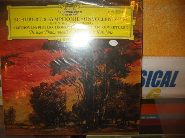 DGG - SCHUBERT N0 8 KARAJAN SEALED / 113 ???