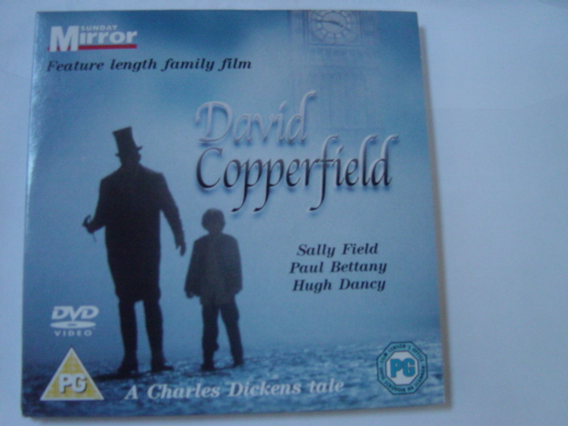 David Copperfield - Sally Field - Sunday Mirror DVD