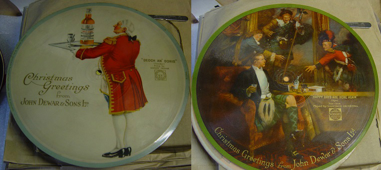 Christmas Greetings from John Dewar & Sons - Picture Disc