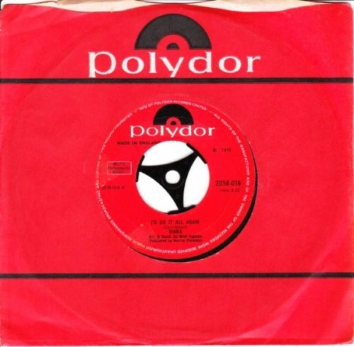 Diana - I'd do it all again - Polydor UK 3618