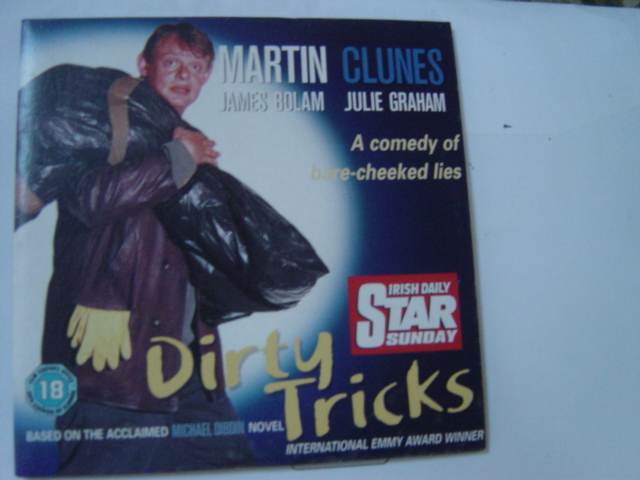 Dirty Tricks - Martin Clunes - Sunday Irish Daily Star DVD