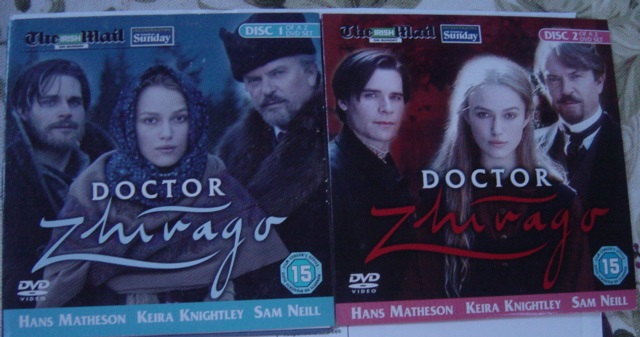 Doctor Zhivago - Matheson Knightly Neill - Irish Mail DVD