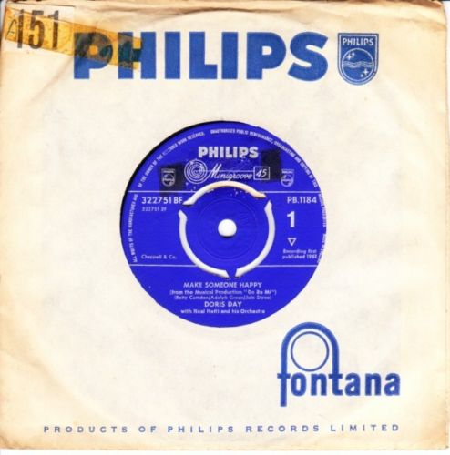 Doris Day - Make someone happy - Philips UK 3645