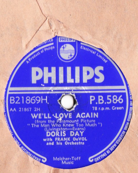 Doris Day - Whatever will be will be - Philips UK