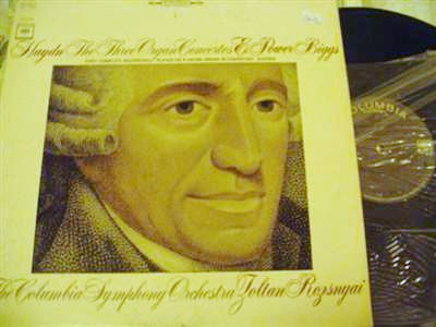 E POWER BIGGS - HAYDN 3 ORGAN ORCHESTRA - COLUMBIA MS