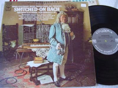 E .POWER BIGGS - SWITCHED OFF BACH - COLUMBIA