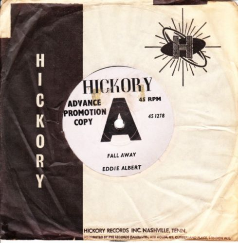 EDDIE ALBERT - FALL AWAY - HICKORY DEMO 3159