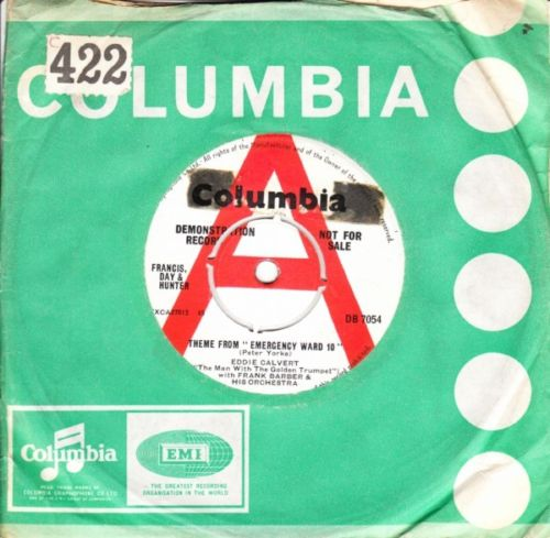 EDDIE CALVERT - THEME EMERGENCY WARD 10 - COLUMBIA PROMO 3099