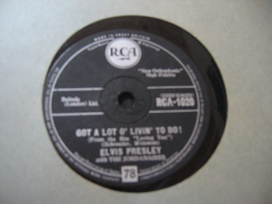 ELVIS PRESLEY - PARTY RCA 1020 - RARE 78 RPM