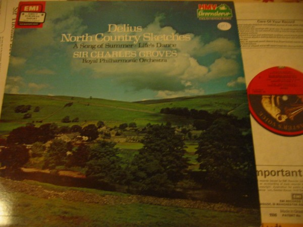 DELIUS - NORTH COUNTRY SKETCHES - GROVES - EMI