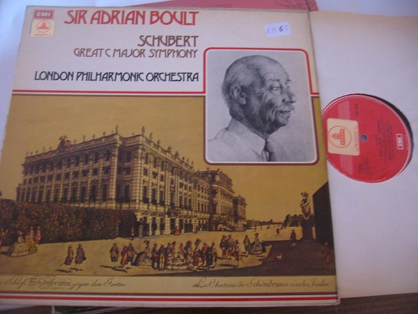 SCHUBERT - GREAT C SYMPH - BOULT - EMI