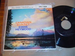 EDDIE HAYWOOD - Canadian Sunset - RCA EPA 1-1529 EP