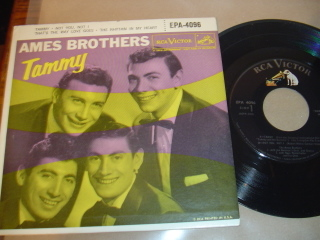 AMES BROTHERS - TAMMY - RCA EPA -4096