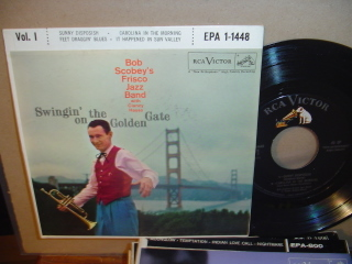 BOB SCOBEY - FRISCO JAZZ - RCA EPA 1-1448