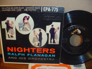 RALPH FLANAGAN - NIGHTERS - RCA EPA -775
