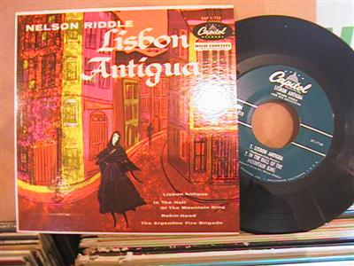 NELSON RIDDLE - LISBON ANTIGUA - CAPITOL EP