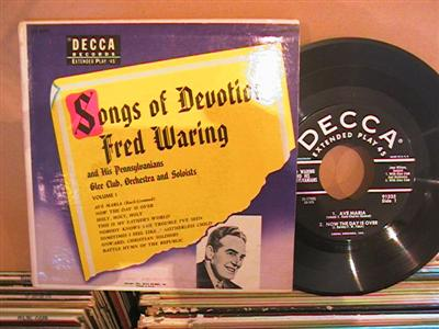 FRED WARING - SONGS OF DEVOTION - DECCA 2 DISC