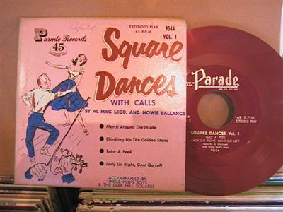 AL MacLEOD & HOWIE BALLANCE - SQUARE DANCE - PARADE