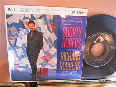 SHORTY RODGERS - PLAYS RICHARD RODGERS - RCA
