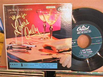 JACKIE GLEASON - MUSIC FOR LOVERS ONLY - CAPITOL