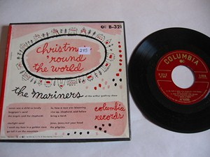 The Mariners - CHRISTMAS ROUND THE WORLD - COLUMBIA ep