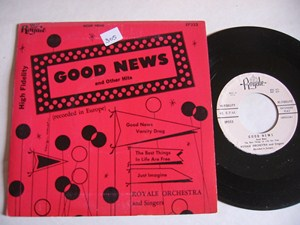 ROYALE ORCHESTRA - GOOD NEWS - ROYALE EP
