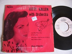 Kitty Kallen - With Orchestra - ROYALE EP