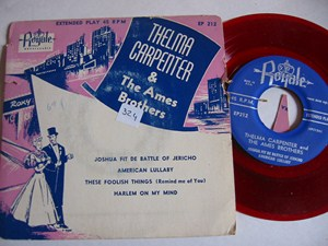 THELMA CARPENTER & AMES BROTHERS - ROYALE EP