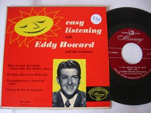 EDDY HOWARD - EASY LISTENING - MERCURY EP