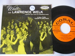 LAWRENCE WELK - WALTZ WITH - CORAL EP - Click Image to Close