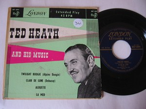 TED HEATH - AND HIS MUSIC - LONDON EP