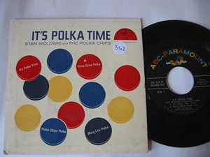 STAN WOLOWIC - IT'S POLKA TIME - ABC EP - Click Image to Close