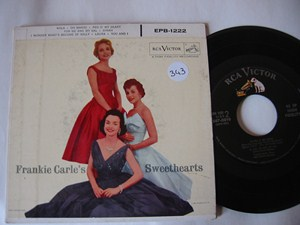 FRANKIE CARLE - SWEETHEARTS - 2 DISC RCA EP - Click Image to Close