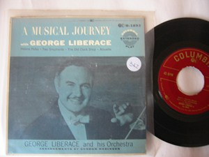 GEORGE LIBERACE - MUSICAL JOURNEY - COLUMBIA