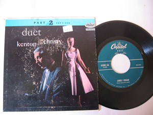 JUNE CHRISTY & STAN KENTON - Duet - CAPITOL EP